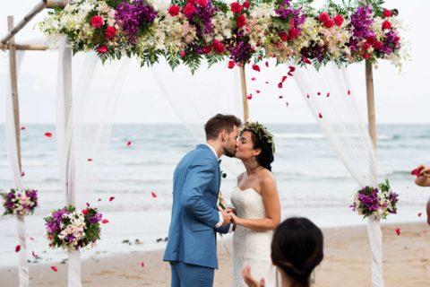 Guam Beach Wedding