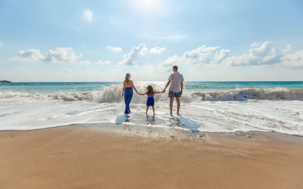 Family trip in Guam