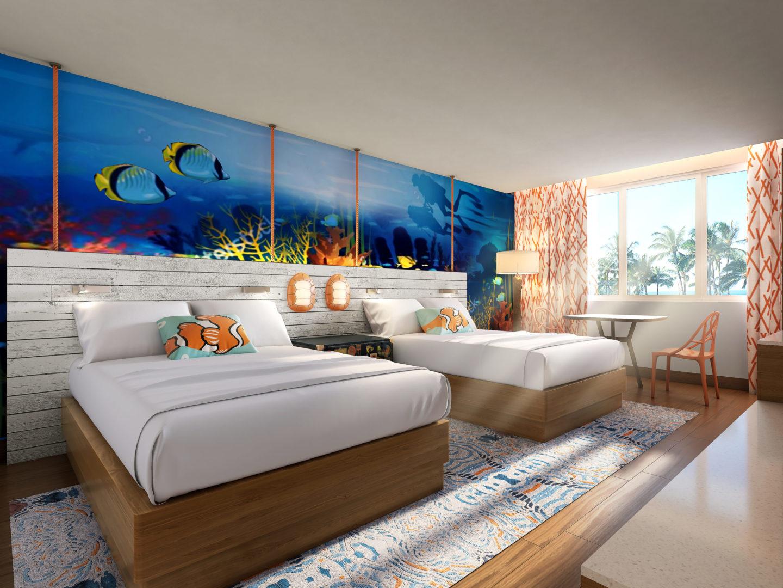 Guam Family Room - Underwater theme