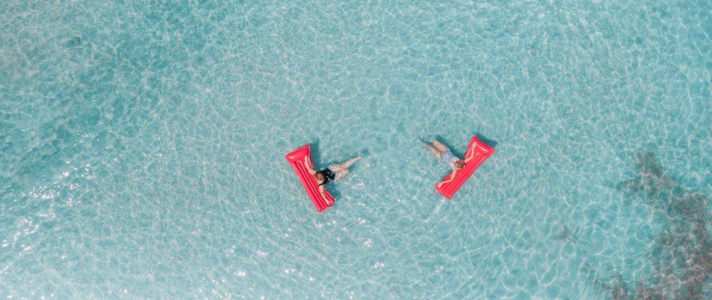 Air floats Guam